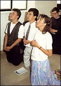 Image result for Photos of visionaries at Medjugorje